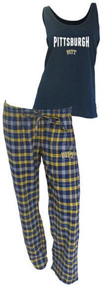College Concepts Women's Pittsburgh Panthers Tank and Pajama Pants Set - Sports Fan Shop By Lids - Men - Macy's Pajamas Women, Sports Fan Shop, Panthers, Pittsburgh, Pajama Pants, College, Stylish, How To Wear, Shopping
