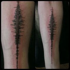 This sound wave tattoo that makes physics look so much cooler.   21 Stunning Science Tattoos That Will Actually Make You Smarter