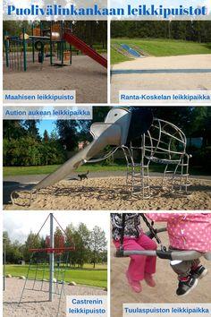 Otetaan hiekkalelut mukaan!: Puolivälinkankaan leikkipuistot