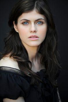 "Alexandra Daddario from ""Percy Jackson""."