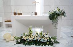 Ideas para decorar la iglesia con flores Ideas for floral designs of the altar