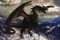 Cool looking Dragons | badass fire breathing flying lizard. Fuck yeah, dragons.