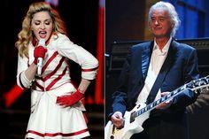 Madonna Jimmy Page