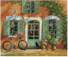 Counted Cross Stitch Kit Mary Weaver (MARYA ISKUSNITSA) - Orange Mood by ArtfulStitchings on Etsy