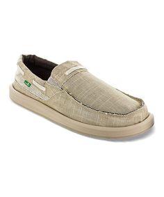 870f5b7bbc Natural Seersucker Skipjack Loafer - Men  zulilyfinds Loafers Men