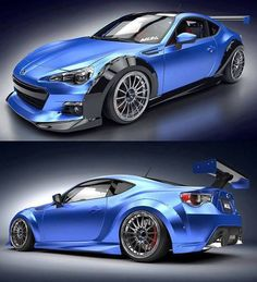Subaru BRZ there some cool pics at this site http://extreme-modified.com/extreme-modified-cars/
