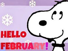 snoopy hello march - Google Search