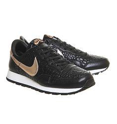 the best attitude 9382d 0b526 Nike Air Pegasus 83 Black Metallic Rose Gold Prem Quilted - His trainers