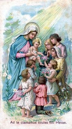Children with Mary and Jesus
