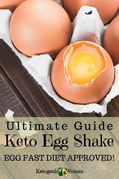 The Ultimate Guide to the Keto Egg Shake. Try a delicious egg fast recipe with this easy Keto egg fast shake recipe and guide. The Ultimate Guide to the Keto Egg Shake. Try a delicious egg fast recipe with this easy Keto egg fast shake recipe and guide. Shake Recipes, Keto Recipes, Lunch Recipes, Protein Recipes, Ketogenic Recipes, Egg Diet Results, Steak And Eggs Diet, Egg And Grapefruit Diet, Low Carb