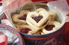 Easy Heart Shaped Linzer Cookie Recipe Without Nuts - Metrowest Mamas