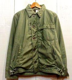 USN A-2 deck jacket