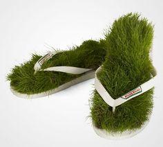 Креативные вещи в траве (15)