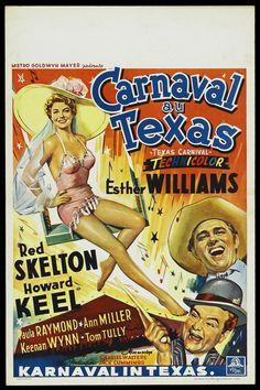 Una Pagina de Cine 1951 Texas carnival - Carnaval en Texas (bel) 01.jpg