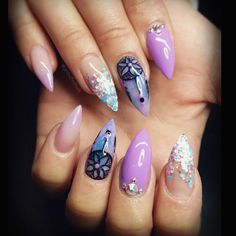 Instagram media by getbuffednails - Dream Catchers for @ladysparrow_8 xx…