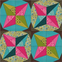 Don't Call Me Betsy: Quiltmaker 100 Blocks Vol 9--Rubik's Star block