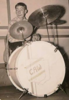 A young Charlie Watts