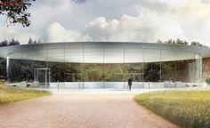 Com design futurista e área pública, nova sede da Apple será inaugurada em abril