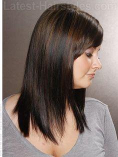 Lowlights In Dark Brown Hair Before