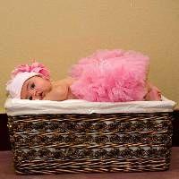 Baby Pink Newborn Pettiskirt