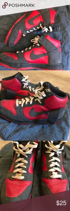Nike high tops Used but in great condition, smoke free home, clean Nike high top shoes Nike Shoes Sneakers