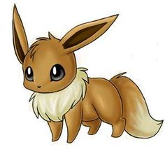 Eevee..cutest pokemon ever <3