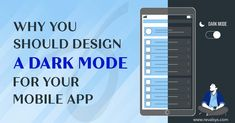 #Revalsys #CreatingPossibilities #MobileApps #MobileAppDevelopment #DarkMode Our latest blog post: Why You Should Design A Dark Mode For Your Mobile App