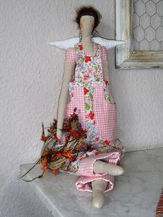 Garten-Engel  von Die Stoffmamsells auf DaWanda.com