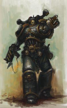 Iron Warrior detailed by MasterAlighieri.deviantart.com on @deviantART