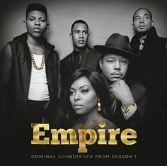 Empire: Original Motion Picture Soundtrack Season 1 on CD Original soundtrack to the hit Fox TV series. Empire is the sexy and powerful drama about the head of a music empire whose three sons and ex-w Serie Empire, Empire Cast, Empire Fox, Empire State, Hip Hop, Soundtrack, Empire Season, Juicy J, Drama