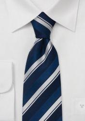 Krawatte blau/silber gestreift günstig kaufen . . . . . der Blog für den Gentleman - www.thegentlemanclub.de/blog