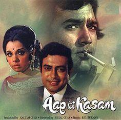 Aap Ki Kasam is a 1974 Hindi film produced by J. Om Prakash, which also marks his directorial debut. The film stars Rajesh Khanna, Mumtaz, Sanjeev Kumar, Rehman, Asrani and A. K. Hangal.