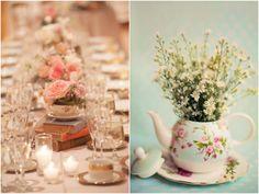 arranjos de mesa simples e fáceis para usar em seu casamento
