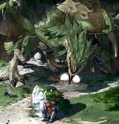 Tags: Monster Hunter Series, Rathian, Pixiv Id 66760 Monster Hunter Memes, Monster Hunter World, Mythical Creatures Art, Fantasy Creatures, Dragon Artwork, Dragon Pictures, Fantasy Monster, Fantasy Dragon, Monster Design