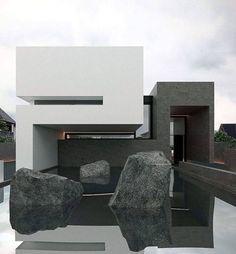 Who wants to live here?  Casa E is designed by Orense Arquitectos and is located in #Guayaquil #Ecuador #restlessarch - Architecture and Home Decor - Bedroom - Bathroom - Kitchen And Living Room Interior Design Decorating Ideas - #architecture #design #interiordesign #homedesign #architect #architectural #homedecor #realestate #contemporaryart #inspiration #creative #decor #decoration