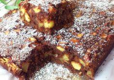 Leniwiec (czekoladowe ciasto z jabłkami) - DoradcaSmaku - ten przepis cieszy się popularnością, sprawdź. French Toast, Food And Drink, Cooking Recipes, Lunch, Baking, Breakfast, Sweet, Cakes, Blog