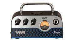 NAMM 2017: Vox MV50 Rock - Winziger Röhren-Amp für Rock & Co. mit 50 Watt - http://www.delamar.de/gitarre/vox-mv50-rock-38534/?utm_source=Pinterest&utm_medium=post-id%2B38534&utm_campaign=autopost