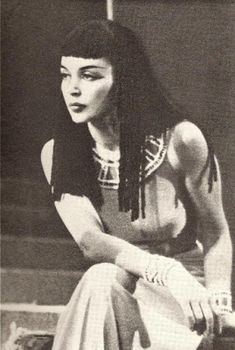 "Enchanted Revelries: The Changing Face of Cleopatra... Lilli Palmer  ""Caesar and Cleopatra"" 1949"
