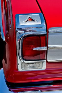 Car Tail Light Images by Jill Reger - Images of Tail Lights - Car Taillight Images - 1965 Dodge Coronet 500 Taillight Emblem