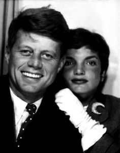Young #JFK & #Jackie