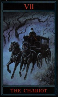 The Gothic Tarot: The Chariot