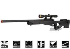 cool AGM Full Metal MK96 AWP Bolt Action Sniper Rifle Airsoft Gun (Black) 2372 - For Sale Check more at http://shipperscentral.com/wp/product/agm-full-metal-mk96-awp-bolt-action-sniper-rifle-airsoft-gun-black-2372-for-sale/