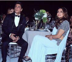 "319 Likes, 1 Comments - DNA After Hrs (@dnaafterhrs) on Instagram: ""Couple goals - SRK and Gauri @dnaafterhrs . . . . . #dnaafterhrs #actor #bollywood #Bollywoodstar…"""