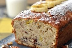 This quick banana bread is one of my favorite recipes. You can also in 1 cup of chocolate chips, if . Banana Bread Honey, Homemade Banana Bread, Banana Bread Recipes, Bread And Pastries, Quick Bread, How To Make Bread, Banana Madura, Honey Recipes, Sweet Bread