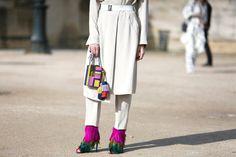 Tutto il meglio dello street style avvistato durante laSettimana della moda di Parigi che presenta le collezioni Autunno Inverno 2016-17.