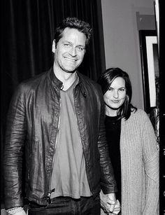 Peter and Mariska; black & white, sweater