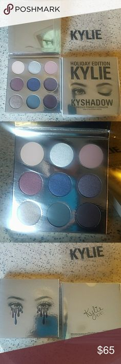 NIB Authentic Kylie Cosmetics Holiday Palette New in box. Authentic. Limited Edition and sold out. Kylie Cosmetics Makeup Eyeshadow