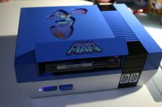 Custom Mega Man Nintendo NES System