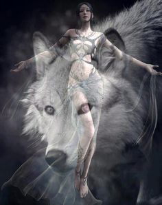 The wolf is my shamanistic animal, sometimes when I meditate I see this creature over my eyes