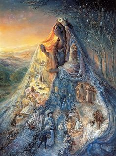 Veil of Dreams - Josephine Wall